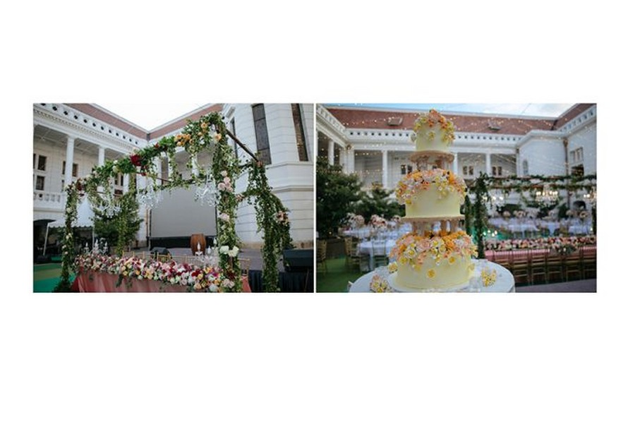 Wedding via and agung the classic beauty wedding event for Agung decoration