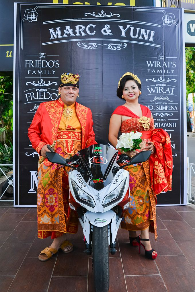 The Wedding of Marc Spanjol and Yuni Kusmarini 8