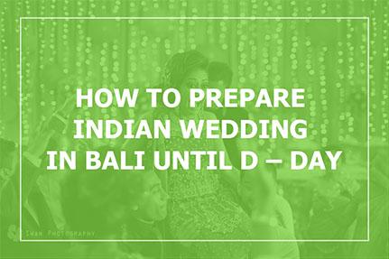 Indian Wedding In Bali