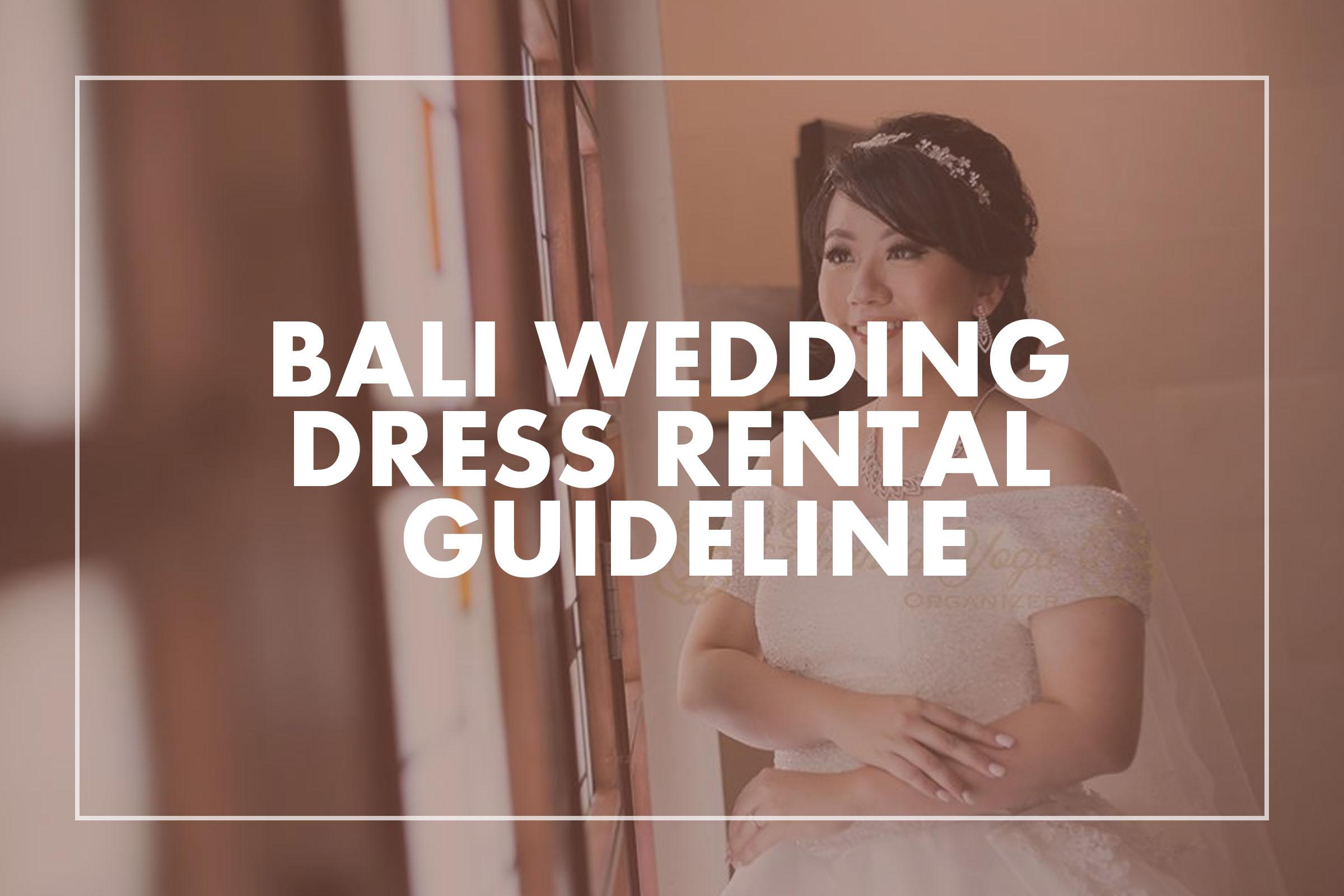 Bali Wedding Dress Rental